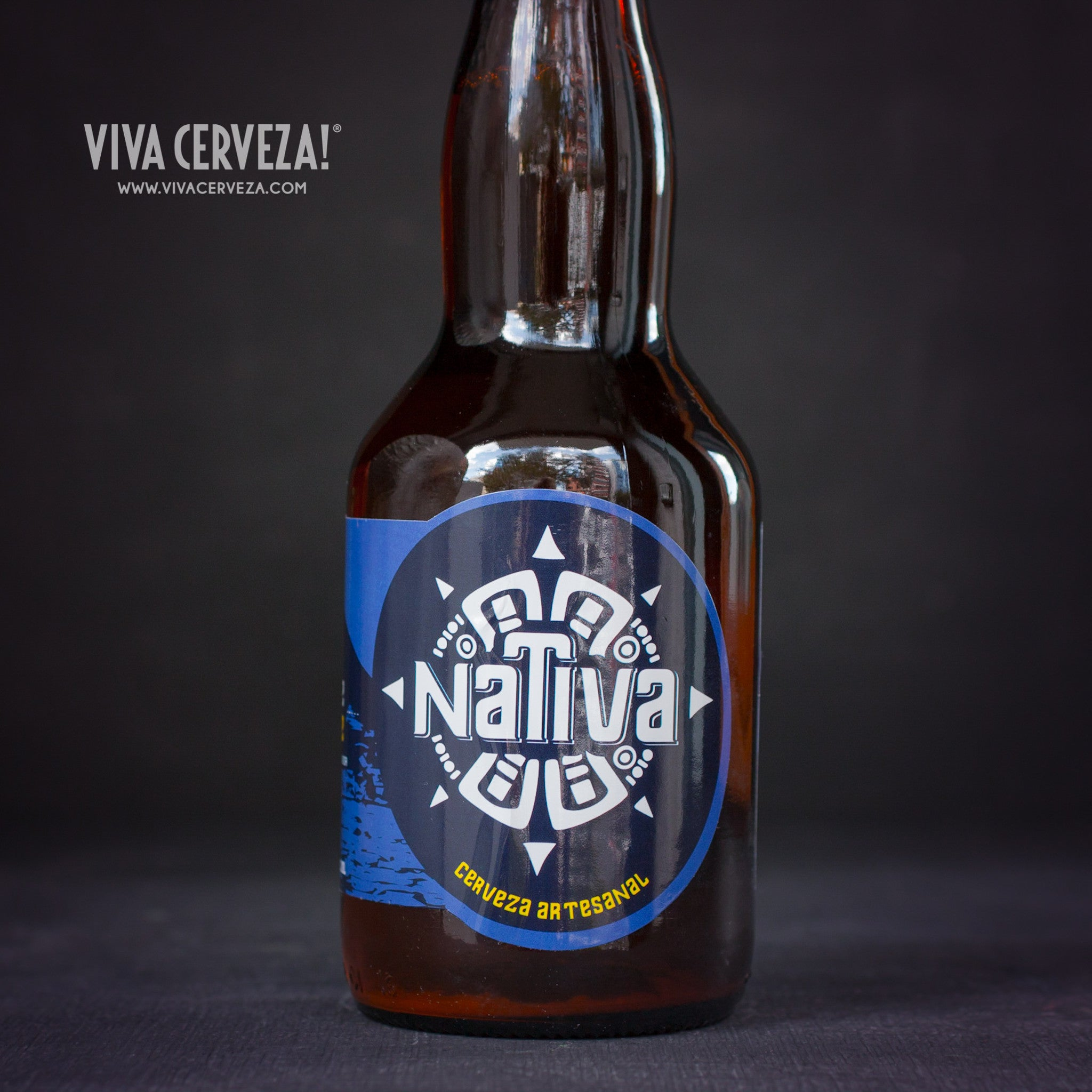Nativa San Pablo - 330ml Botella Cerveza Artesanal Craft Beer Ecuador - %