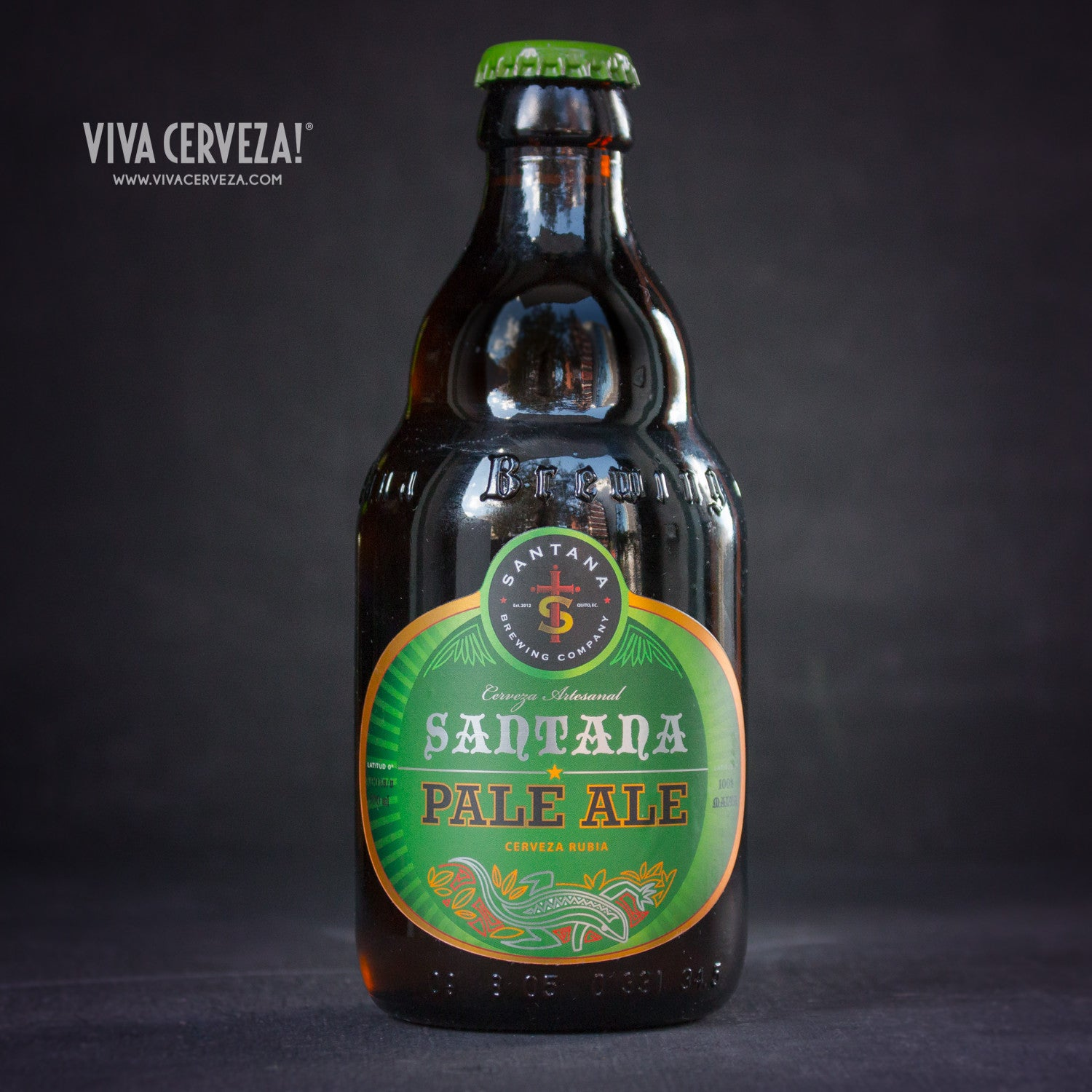 Santana Pale Ale - 300ml Botella Cerveza Artesanal Craft Beer Ecuador - %