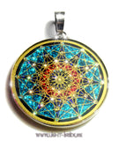 Sixth Dimension Sacred Geometry Pendant