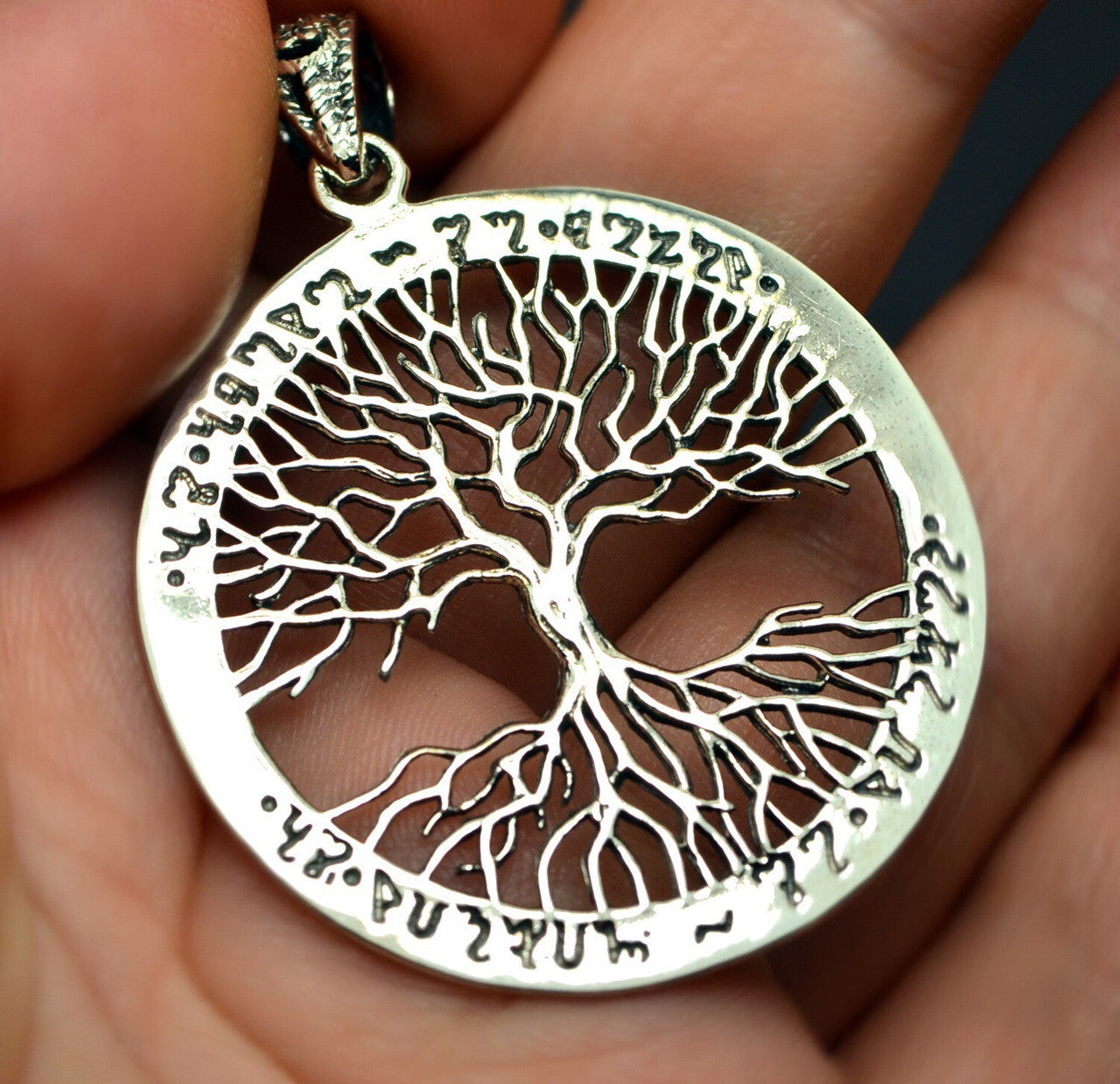 Tree of Life Pendant, Silver