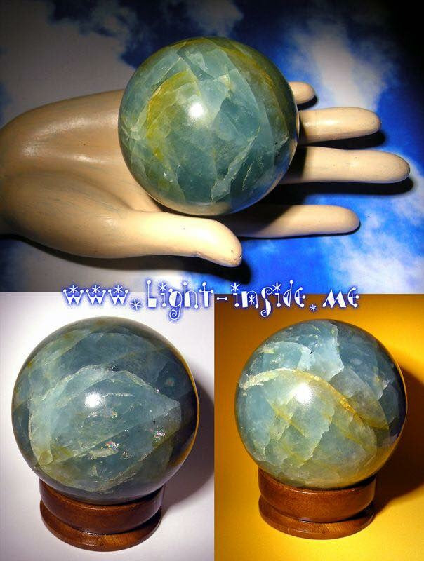 Natural Aquamarine Sphere