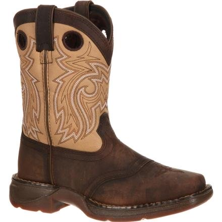 DURANGO LIL' BIG KID SADDLE WESTERN BOOT STYLE DBT0118