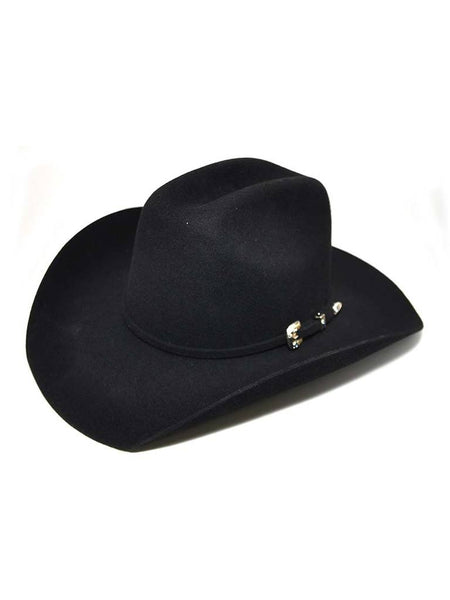 Bullhide Kids Kingman Jr. Premium Wool Black Cowboy Hat Style 0646BL