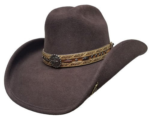 Bullhide Been In The Sun Wool Felt Cowboy Hat Style 0748CH
