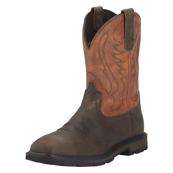 Ariat Men's Groundbreaker Steel Toe Western Work Boots Style 10015191