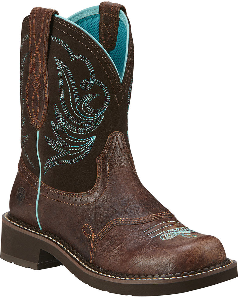 Ariat Women's Fatbaby Heritage Dapper Western Boots Style 10016238