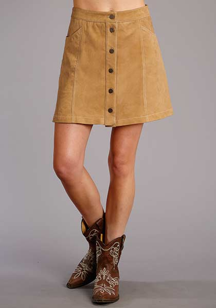Stetson Ladies Collection Lamb Suede Skirt Style 11-060-0539-6050
