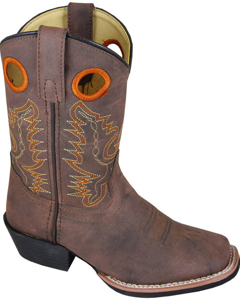 Smoky Mountain Youth Boys' Memphis Western Square Toe Boots Style 1415Y