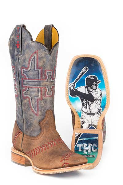 Tin Haul Men's SLUGGER WITH FIELD OF DREAMS SOLE Boots Style 14-020-0007-0282
