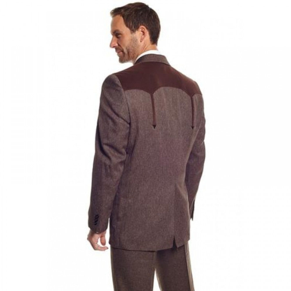 Circle S - Heather Boise Sportcoat Heather Chestnut Style Number CC2976