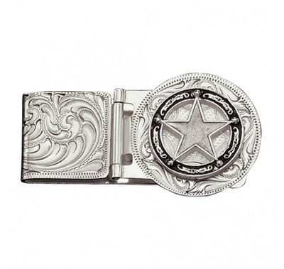 Montana Silversmith Retro Star Money Clip Mcl810