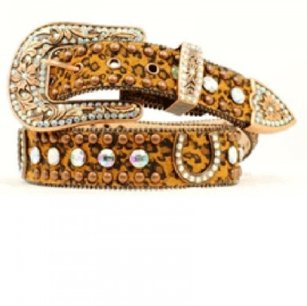 Bling Ladies leopard Belt Style N3513602