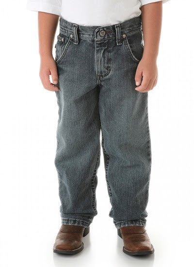Wrangler 20X Boys 33 Relaxed Fit Straight Leg Jeans (Sizes 8-16) Style 33BWXVM