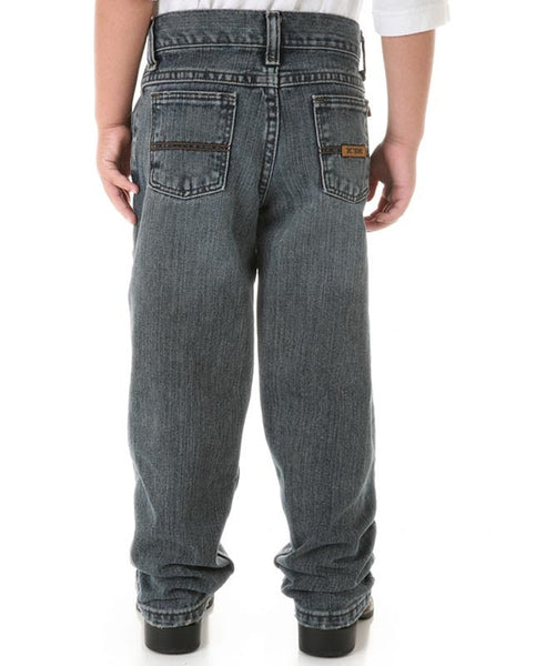 Wrangler 20X Boys 33 Relaxed Fit Straight Leg Jean (Sizes 1T-7) Style 33JWXVM