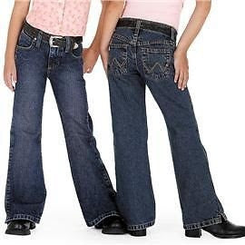 Wrangler Girls Ultimate Riding Jeans Style JRC10AS