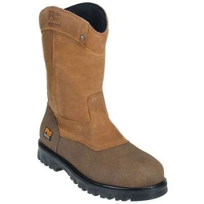 Timberland PRO Men's Waterproof EH Wellington Steel Toe Boots Style 89604