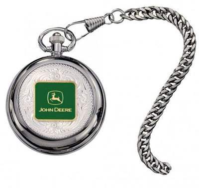 Montana Silversmith John Deere Logo Figure Pocket Watch Style WATCHP20-JD5F