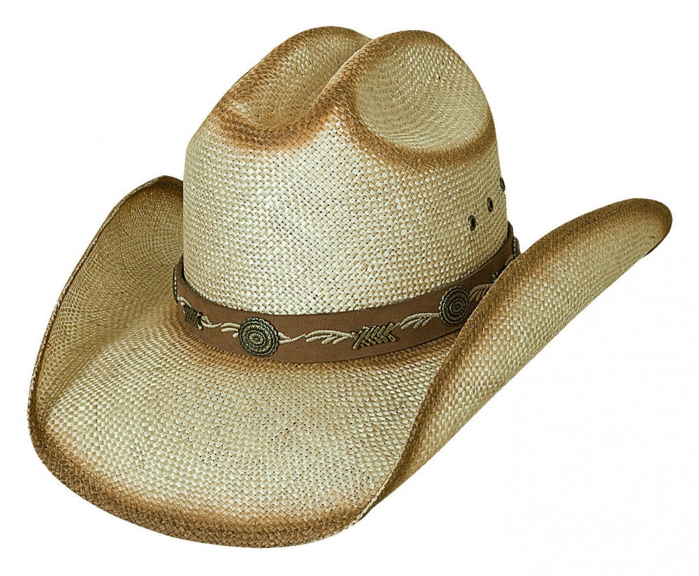 NEW Bullhide Hats 2456 Anytime Natural Air Brushed Cowboy Hat