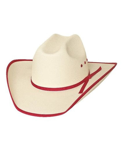 Bullhide Lil' Pardner Collection Lucky Eight Off White Cowboy Hat Style 2811R