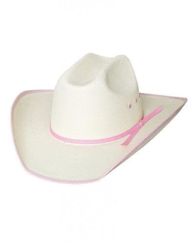 Bullhide Lil' Pardner Collection Lucky Eight Off White Cowboy Hat Style 2811P