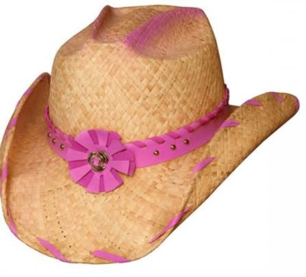 Bullhide Sassy Shapeable Childrens Straw Cowboy Hat Style 2239