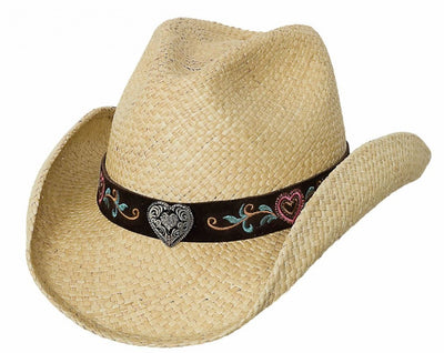 Bullhide Crazy For You Straw Hat Style 2605