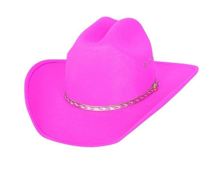 Bullhide It's Rodeo Time Pink Cowboy Hat Style 0607p