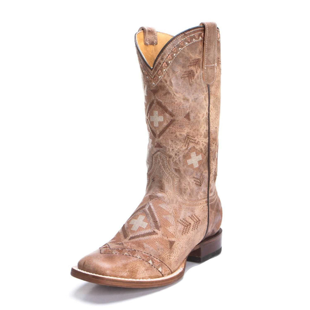 Roper Womens Native Embroidered Western Boots Style 09-021-7016-1531