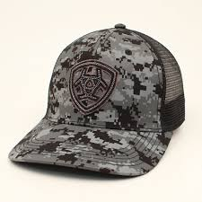 Ariat Men's Digital Camo Baseball Cap By M&F Western Style A3000043156