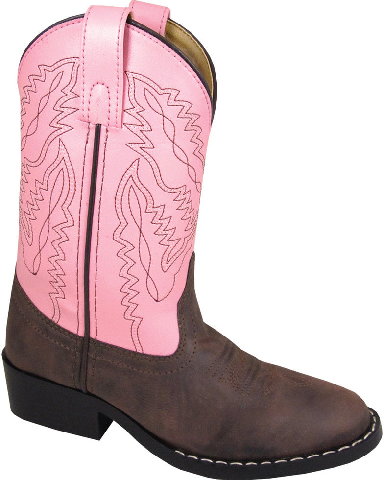 Smoky Mountain Girls' Monterey Western Round Toe Boots Style 1574C