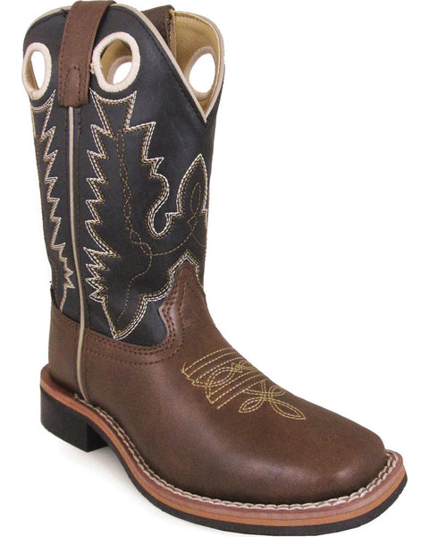 Smoky Mountain Youth Boys' Blaze Kid Western Square Toe Boot Style 1685Y