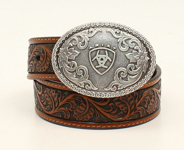 Ariat Boys Western Tooled Belt with Buckle Style A1300208