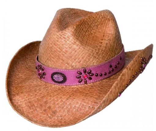 Bullhide Daughter of the West Childrens Shapeable Straw Cowboy Hat Style 2545