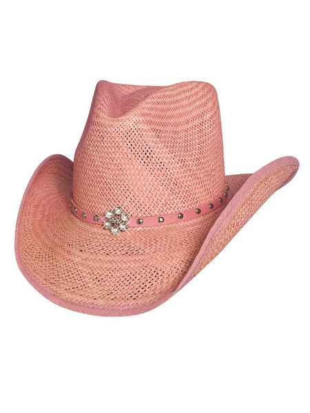 "Bullhide Kids ""All American Girl"" Straw Hat Style 2717P"