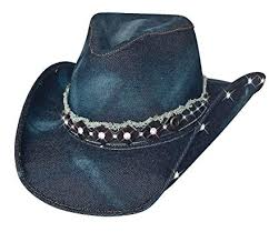 Bullhide Better Than Yesterday Womens Denim Cowgirl Hat Style 2792