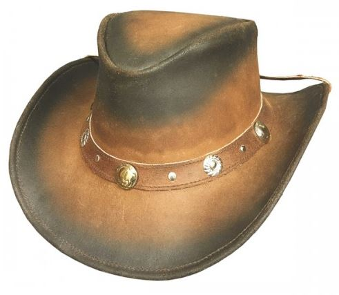 Bullhide Bunker Hill Leather Australian Hat Style 4059