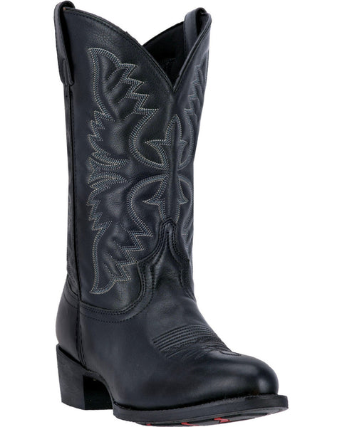 Laredo Men's Embroidered Round Toe Western Boots Style 68450
