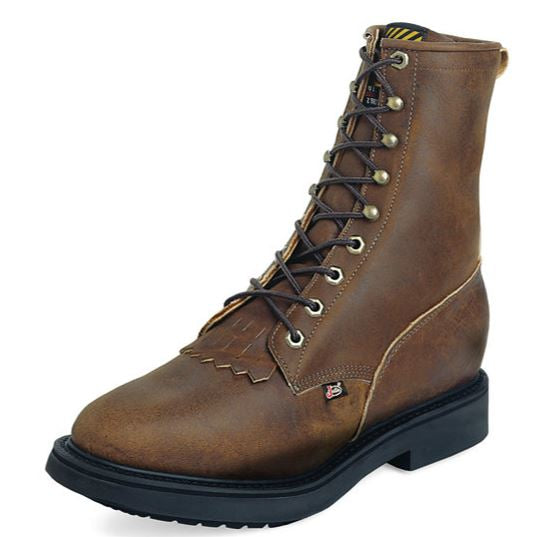 Justin Aged Bark Original Laceup Work Boot Style 760