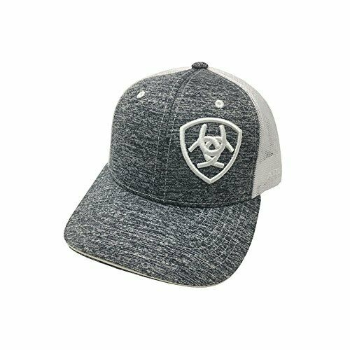 ARIAT Kid's Youth Offset Logo Heather Grey Cap Style 1517705