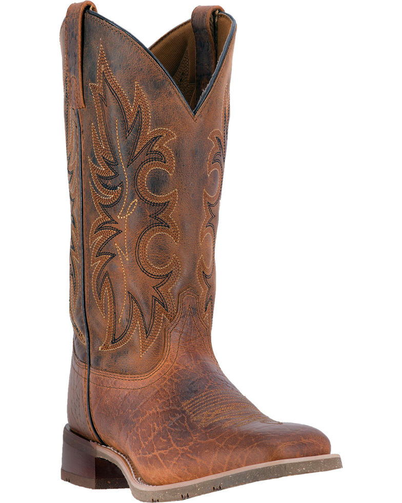 Laredo Men's Rustic Rancher Stockman Boots Style 7835