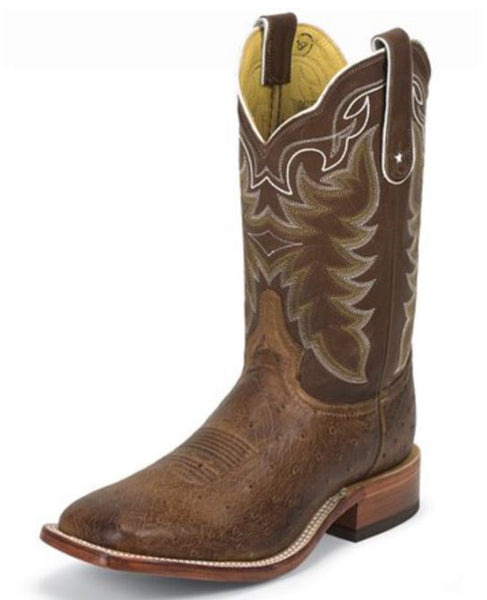 Tony Lama Men's Smooth Ostrich Exotic Boots Style 7881