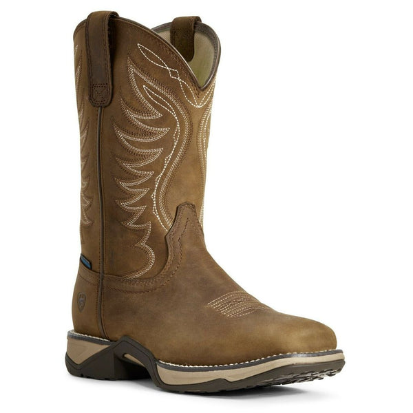 Ariat Ladies Distressed Brown Anthem Boots Style 10029528