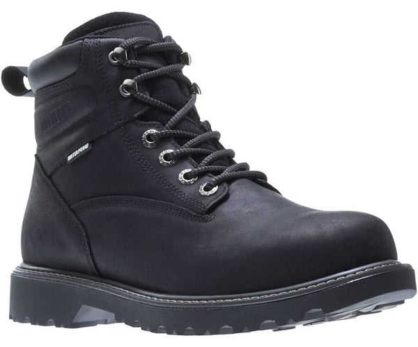 "WOLVERINE MEN'S FLOORHAND WATERPROOF STEEL-TOE 6"" WORK BOOT STYLE W10694"