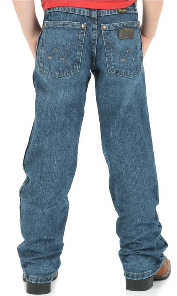 Wrangler Retro Boys Junior Everyday Blue Jeans Style BRT30EB