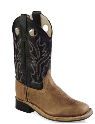 Jama Youth Western Light Brown Boot Style BSY1814