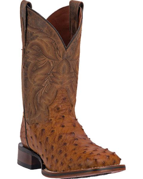 Dan Post Alamosa Men's Alamosal Ostrich Exotic Western Boots Style DP3876