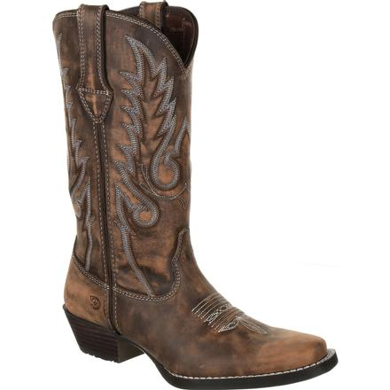DURANGO DREAM CATCHER WOMEN'S DISTRESSED BROWN WESTERN BOOT STYLE DRD0327