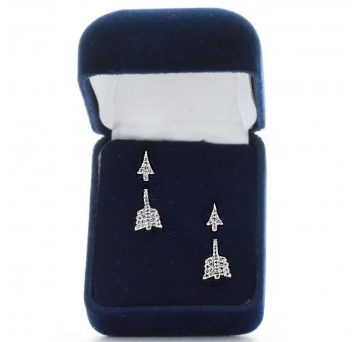 Montana Silversmith Pierced Arrow Earrings Style ER3411