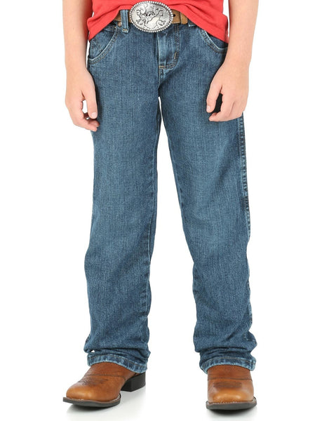 Wrangler Retro Everyday Blue Straight Leg Boys Jeans Style JRT30EB