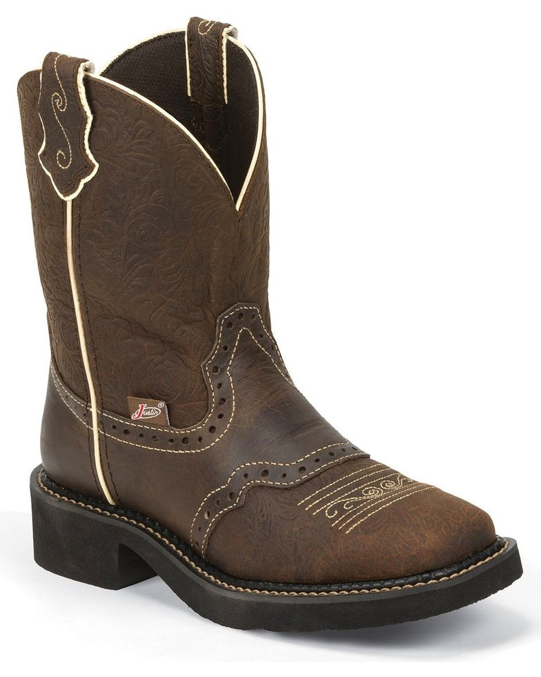Justin Women's Embossed Gypsy Western Boots Style L9618